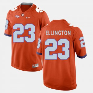 Men's Football #23 Clemson National Championship Andre Ellington college Jersey - Orange
