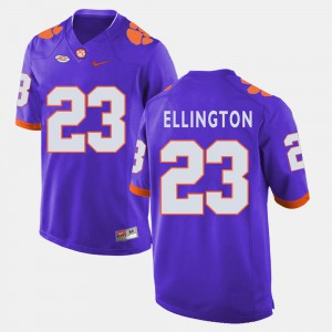 Men's #23 Football Clemson Tigers Andre Ellington college Jersey - Purple