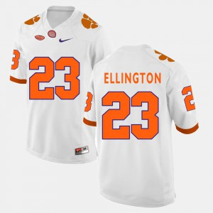 Men's Clemson Football #23 Andre Ellington college Jersey - White