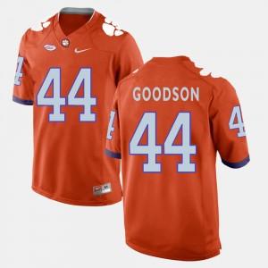 Men's Football #44 Clemson B.J. Goodson college Jersey - Orange