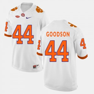 Men #44 CFP Champs Football B.J. Goodson college Jersey - White