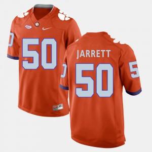 Men CFP Champs Football #50 Grady Jarrett college Jersey - Orange