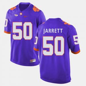 Mens Football #50 CFP Champs Grady Jarrett college Jersey - Purple
