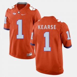 Mens #1 Clemson Football Jayron Kearse college Jersey - Orange