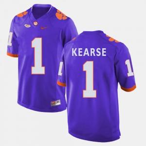 Men Clemson National Championship Football #1 Jayron Kearse college Jersey - Purple