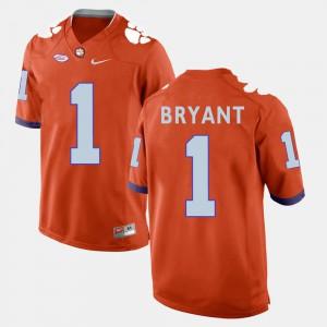 Men #1 Football Clemson Martavis Bryant college Jersey - Orange