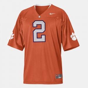 Men Clemson University #2 Football Sammy Watkins college Jersey - Orange