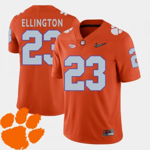 Men Clemson Tigers 2018 ACC #23 Football Andre Ellington college Jersey - Orange